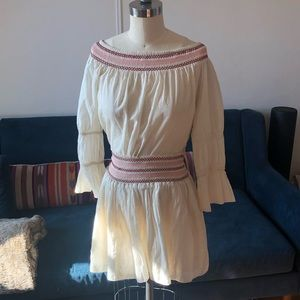LoveShackFancy mini skirt set XS